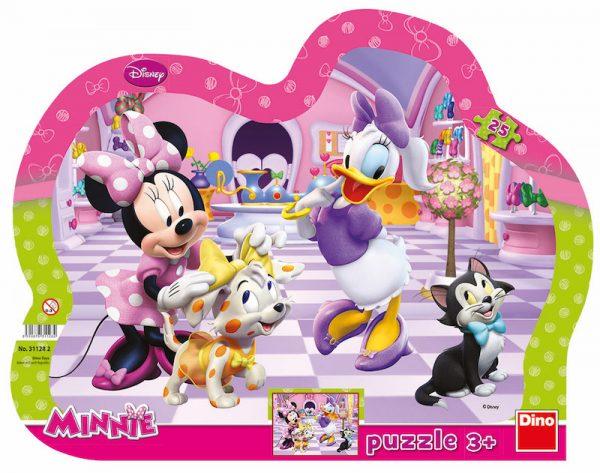 Puzzle Minnie a mazlíčci