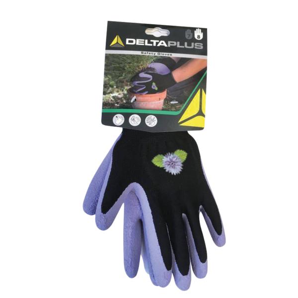Rukavice zahradní č. 7 fialové