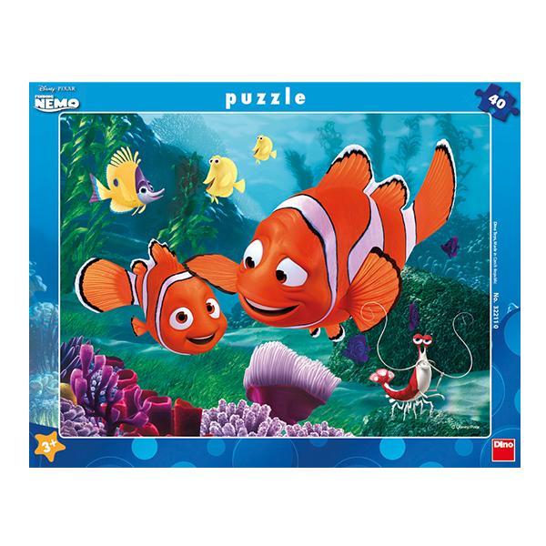 Puzzle Nemo v bezpečí 40 dílků